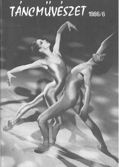 tancmuveszet-1986-6-címlap