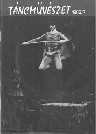 tancmuveszet-1986-7-címlap