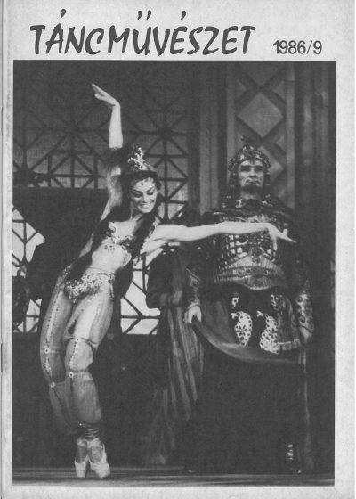 tancmuveszet-1986-9-címlap
