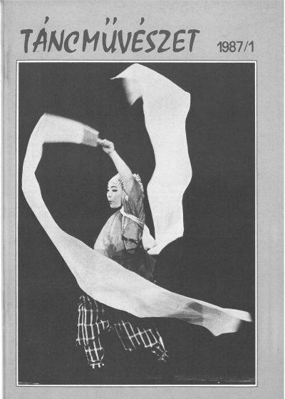 tancmuveszet-1987-1-címlap