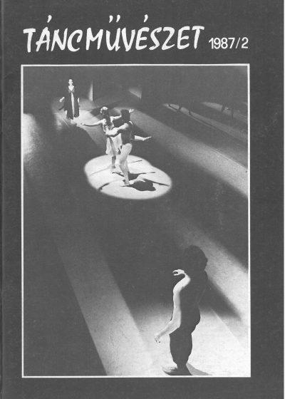tancmuveszet-1987-2-címlap