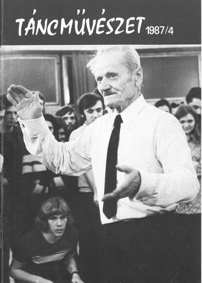 tancmuveszet-1987-4-címlap