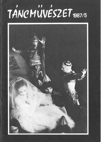 tancmuveszet-1987-5-címlap