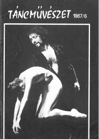 tancmuveszet-1987-6-címlap