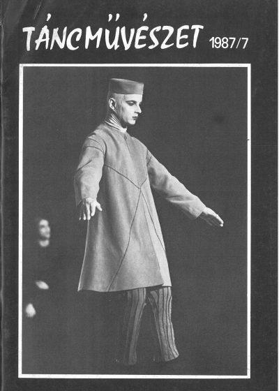 tancmuveszet-1987-7-címlap