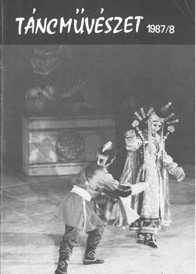 tancmuveszet-1987-8-címlap