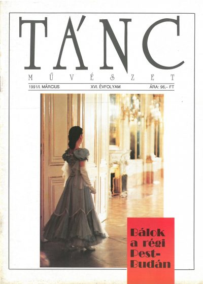 tancmuveszet-1991-1-címlap
