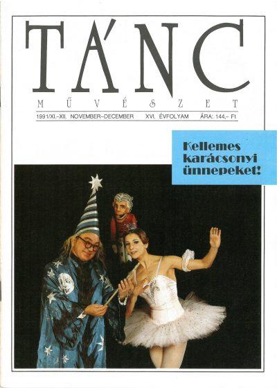 tancmuveszet-1991-11-12-címlap
