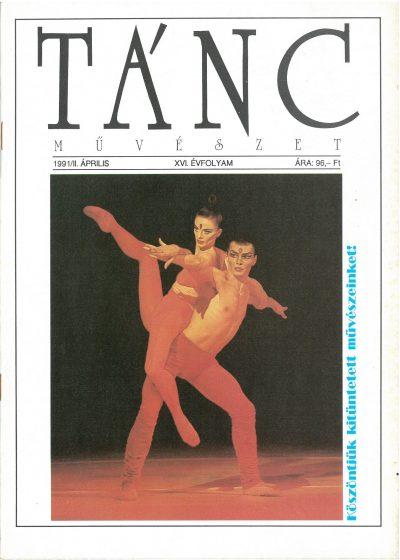 tancmuveszet-1991-2-címlap