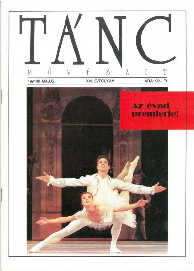 tancmuveszet-1991-3-címlap