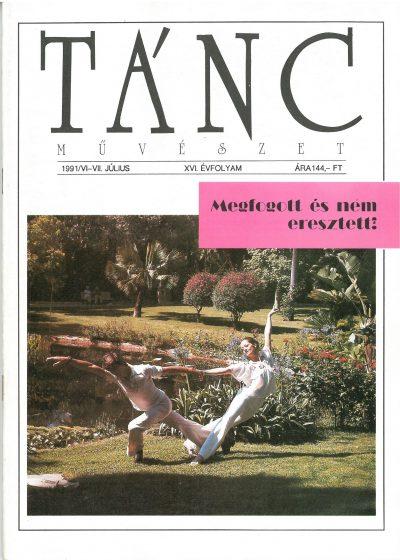 tancmuveszet-1991-6-7-címlap