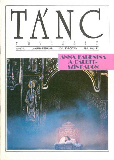 tancmuveszet-1992-1-2-címlap