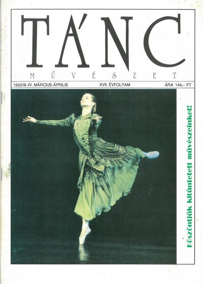 tancmuveszet-1992-3-4-címlap