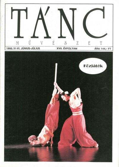 tancmuveszet-1992-5-6-címlap