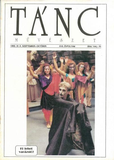 tancmuveszet-1992-9-10-címlap