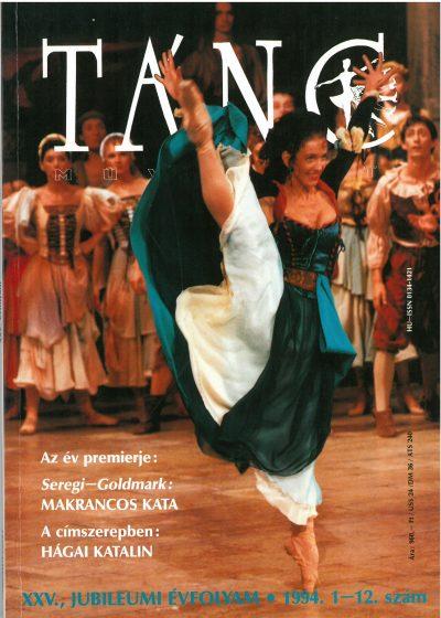 tancmuveszet-1994-1-12-címlap