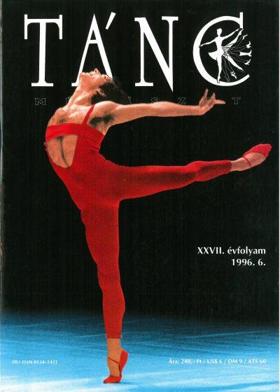 tancmuveszet-1996-1-címlap