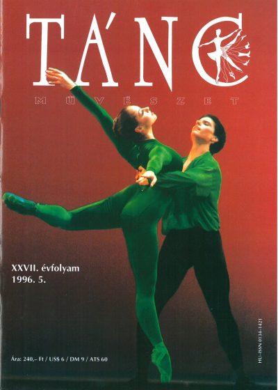 tancmuveszet-1996-2-címlap