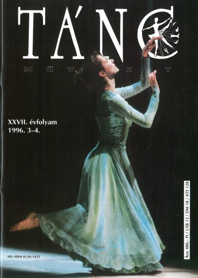 tancmuveszet-1996-3-4-címlap
