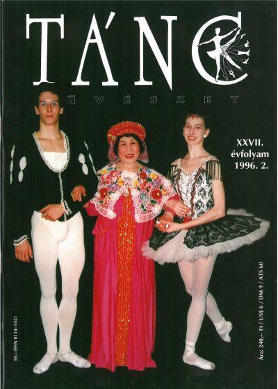 tancmuveszet-1996-5-címlap