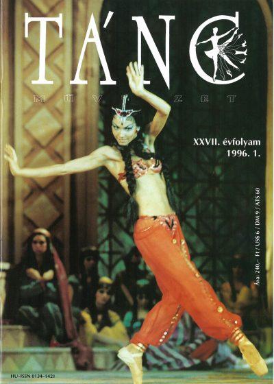 tancmuveszet-1996-6-címlap