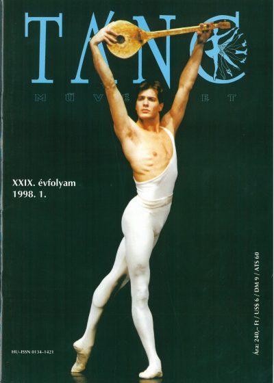 tancmuveszet-1998-1-címlap
