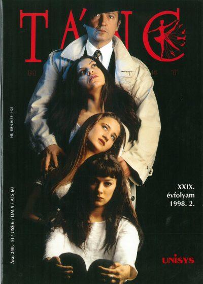 tancmuveszet-1998-2-címlap