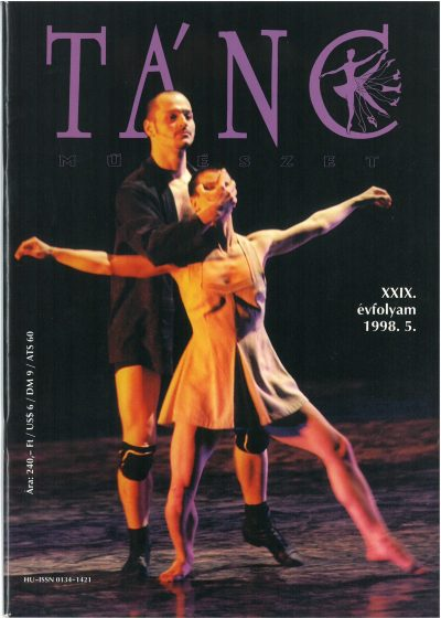 tancmuveszet-1998-5-címlap