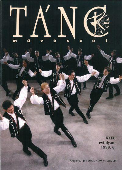 tancmuveszet-1998-6-címlap