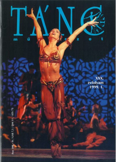 tancmuveszet-1999-1-címlap