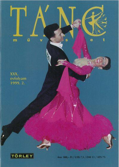 tancmuveszet-1999-2-címlap