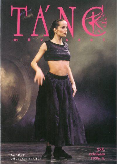 tancmuveszet-1999-4-címlap