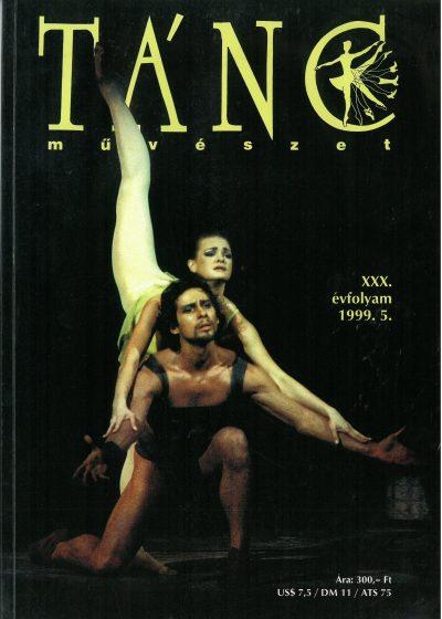 tancmuveszet-1999-5-címlap