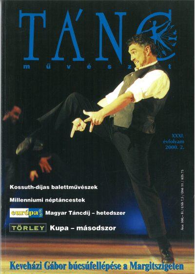 tancmuveszet-2000-2-címlap