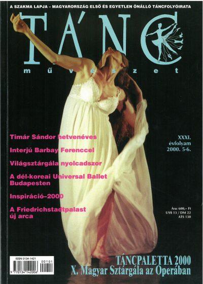 tancmuveszet-2000-5-6-címlap