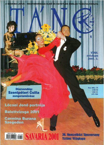 tancmuveszet-2001-3-címlap