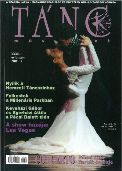 tancmuveszet-2001-4-címlap
