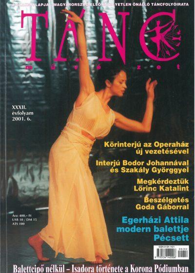 tancmuveszet-2001-6-címlap