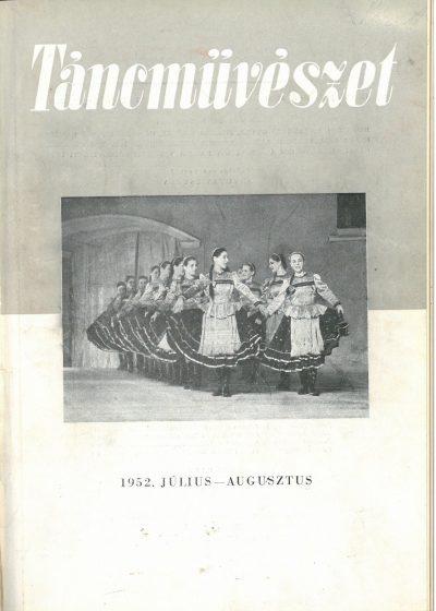 tancmuveszet-1952-7-8-címlap