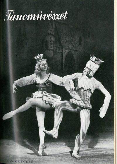 tancmuveszet-1955-10-címlap