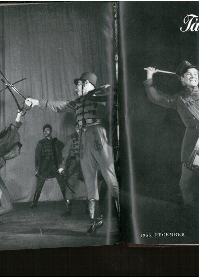 tancmuveszet-1955-12-címlap