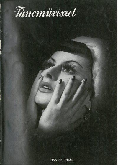 tancmuveszet-1955-2-címlap