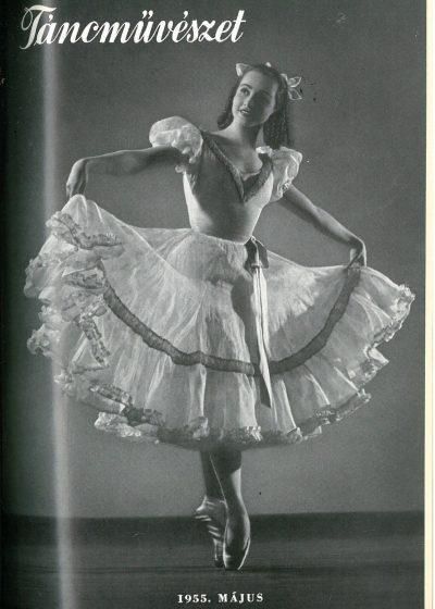 tancmuveszet-1955-5-címlap
