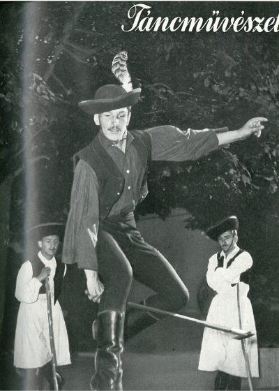 tancmuveszet-1955-7-címlap