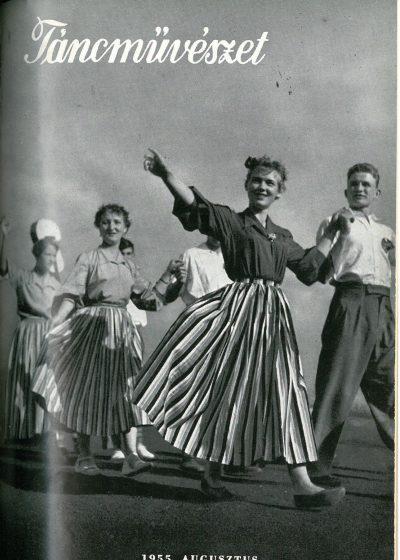 tancmuveszet-1955-8-címlap