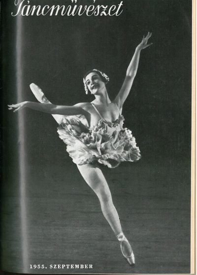 tancmuveszet-1955-9-címlap