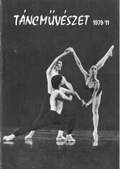 tancmuveszet-1979-11-címlap