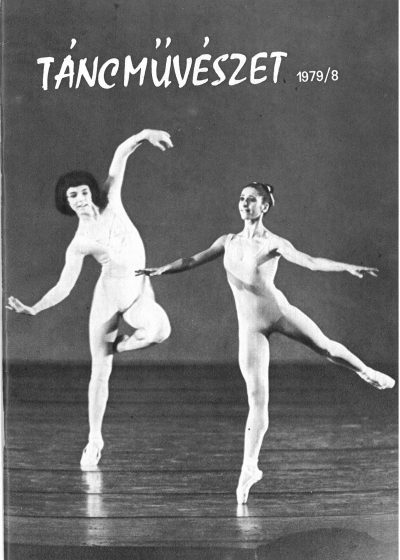 tancmuveszet-1979-8-címlap