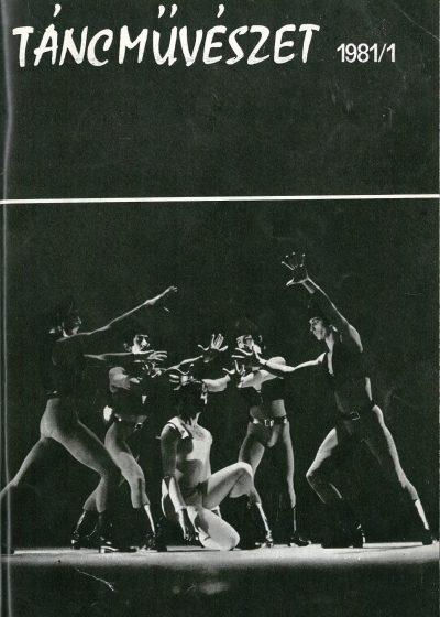 tancmuveszet-1981-1-címlap