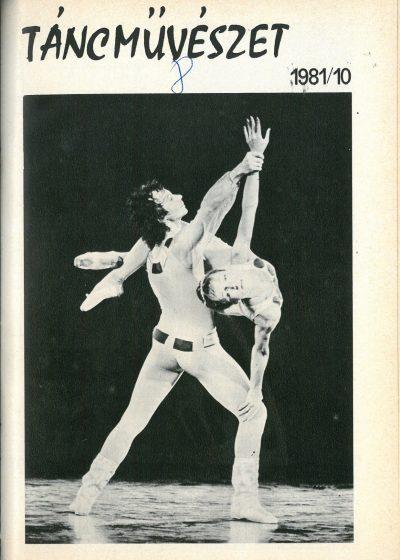 tancmuveszet-1981-10-címlap